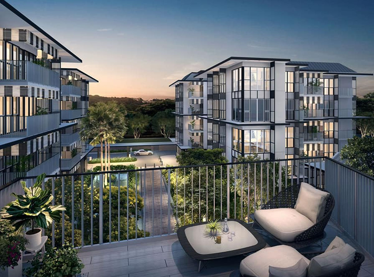 The Verandah Residences 1 Bedroom (462 sqft) for Sale
