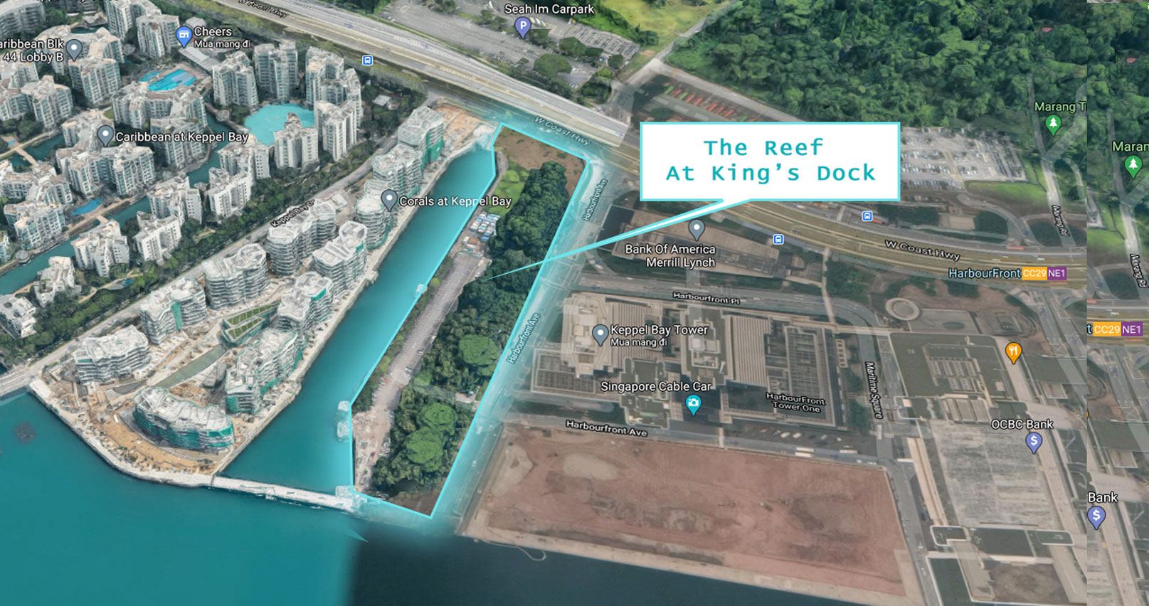 The Reef At King's Dock land site