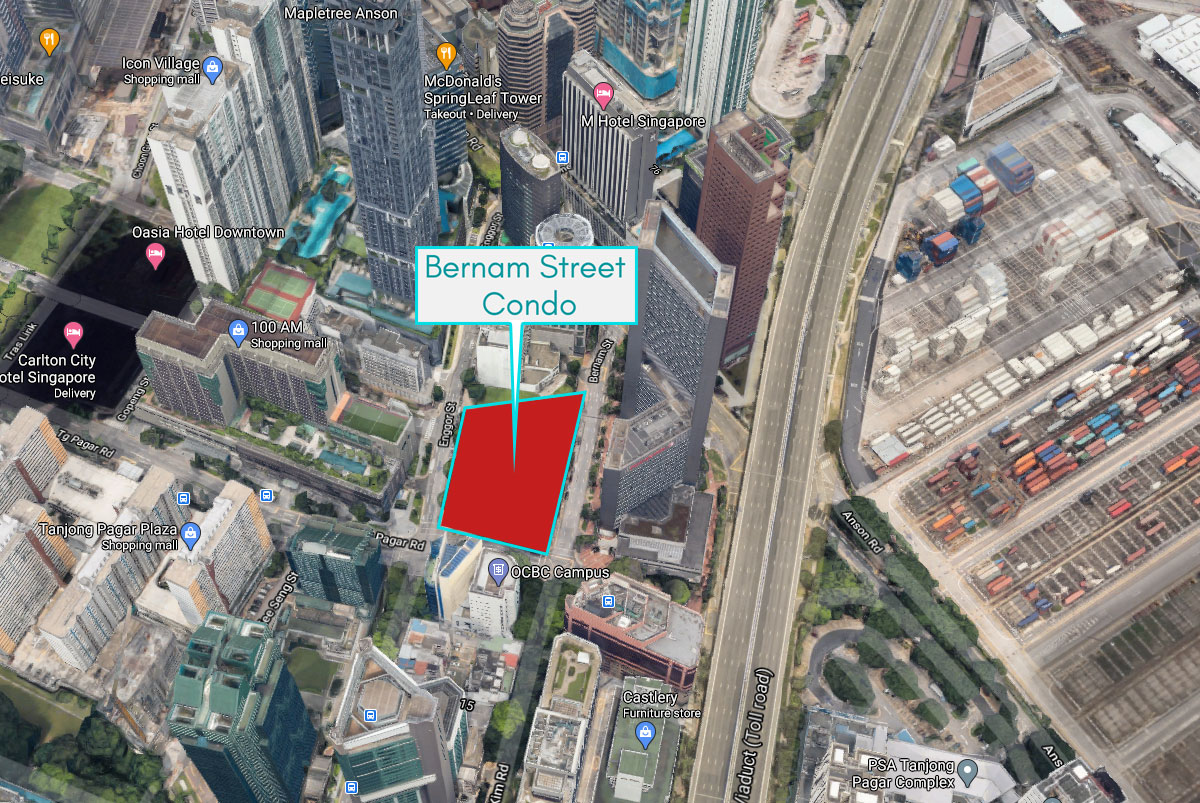 Bernam Street Condo 's Loacation Map