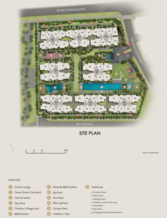RoyalGreen Site Plan