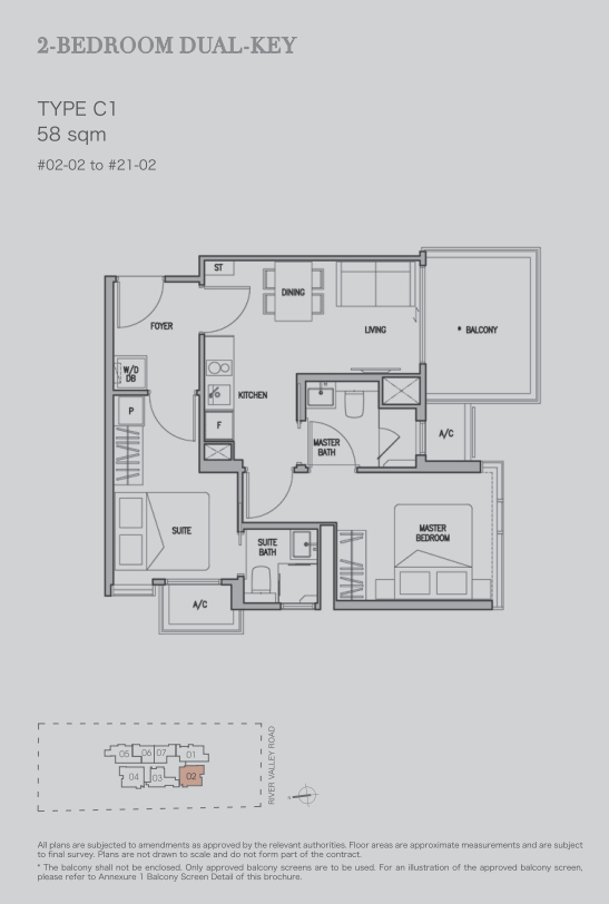 RV Altitude Floor Plans and Typical Units