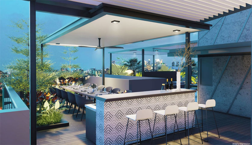 Arena Residences is released by Roxy-Pacific Holdings